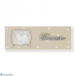 Placa rectangular-Dormitorio