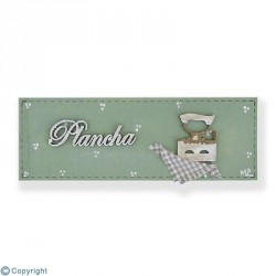 Placa rectangular-Plancha